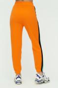 Оптом Штаны джоггеры женские оранжевого цвета 1309O в Екатеринбурге, фото 10