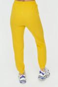 Оптом Штаны джоггеры женские желтого цвета 1312J в Казани, фото 16