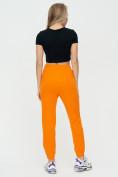 Оптом Штаны джоггеры женские оранжевого цвета 1312O в Екатеринбурге, фото 7