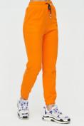 Оптом Штаны джоггеры женские оранжевого цвета 1312O в Екатеринбурге, фото 8