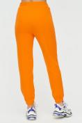 Оптом Штаны джоггеры женские оранжевого цвета 1312O в Екатеринбурге, фото 10