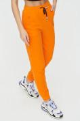 Оптом Штаны джоггеры женские оранжевого цвета 1312O в Екатеринбурге, фото 12