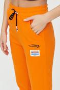 Оптом Штаны джоггеры женские оранжевого цвета 1312O в Екатеринбурге, фото 14