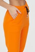Оптом Штаны джоггеры женские оранжевого цвета 1312O в Екатеринбурге, фото 15