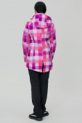 Оптом Костюм женский softshell розового цвета 01923R в  Красноярске, фото 4