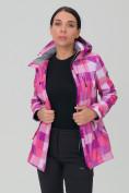 Оптом Костюм женский softshell розового цвета 01923R, фото 6