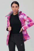 Оптом Костюм женский softshell розового цвета 01923R, фото 7