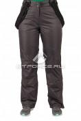Интернет магазин MTFORCE.ru предлагает купить оптом брюки горнолыжные женские серого цвета 1403Sr по выгодной и доступной цене с доставкой по всей России и СНГ
