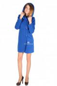 Интернет магазин MTFORCE.ru предлагает купить оптом пальто женское синего цвета 15224S по выгодной и доступной цене с доставкой по всей России и СНГ
