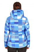 Оптом Куртка горнолыжная женская синего цвета 1784S в  Красноярске, фото 3