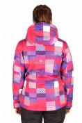 Оптом Куртка горнолыжная женская розового цвета 1784R, фото 2