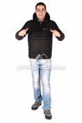 Интернет магазин MTFORCE.ru предлагает купить оптом куртка мужская стеганная черного цвета 1607Ch по выгодной и доступной цене с доставкой по всей России и СНГ