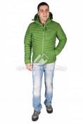 Интернет магазин MTFORCE.ru предлагает купить оптом куртка мужская стеганная зеленого цвета 1606Z по выгодной и доступной цене с доставкой по всей России и СНГ