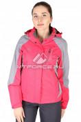 Интернет магазин MTFORCE.ru предлагает купить оптом куртка спортивная женская весна красного цвета 1612Kr по выгодной и доступной цене с доставкой по всей России и СНГ