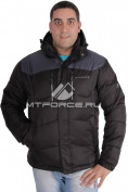 Интернет магазин MTFORCE.ru предлагает куртка зимняя мужская черного цвета 1624Ch по выгодной и доступной цене с доставкой по всей России и СНГ