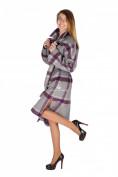 Оптом Пальто женское фиолетового цвета 16304F, фото 2