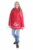 Интернет магазин MTFORCE.ru предлагает купить оптом куртку женскую итальянского тмпа красного цвета 1689Kr по выгодной и доступной цене с доставкой по всей России и СНГ