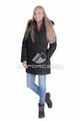 Интернет магазин MTFORCE.ru предлагает купить оптом куртку женскую итальянского тмпа черного цвета 1690Ch по выгодной и доступной цене с доставкой по всей России и СНГ