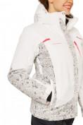 Оптом Куртка горнолыжная женская белого цвета 17122Bl, фото 6