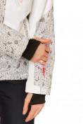 Оптом Куртка горнолыжная женская белого цвета 17122Bl, фото 7