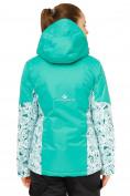 Оптом Куртка горнолыжная женская зеленого цвета 17122Z, фото 3