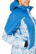 Оптом Костюм горнолыжный женский синего цвета 017122S в  Красноярске, фото 7