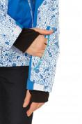 Оптом Костюм горнолыжный женский синего цвета 017122S в  Красноярске, фото 8