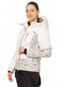 Оптом Куртка горнолыжная женская белого цвета 17122Bl, фото 2