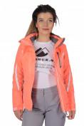 Интернет магазин MTFORCE.ru предлагает купить оптом куртку спортивную женская осень весна персиковый цвета 1717P по выгодной и доступной цене с доставкой по всей России и СНГ