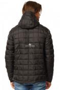 Оптом Куртка мужская стеганная черного цвета 1741Ch в Екатеринбурге, фото 4