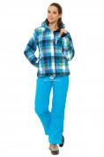 Оптом Костюм горнолыжный женский голубого цвета 01807Gl в  Красноярске