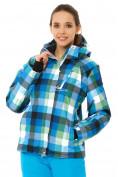 Оптом Куртка горнолыжная женская голубого цвета 1807Gl в  Красноярске, фото 2