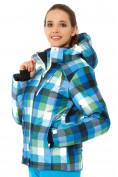 Оптом Куртка горнолыжная женская голубого цвета 1807Gl в  Красноярске, фото 3