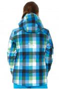 Оптом Куртка горнолыжная женская голубого цвета 1807Gl в  Красноярске, фото 4