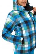 Оптом Куртка горнолыжная женская голубого цвета 1807Gl в  Красноярске, фото 5