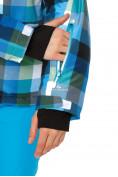 Оптом Куртка горнолыжная женская голубого цвета 1807Gl в  Красноярске, фото 6
