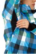 Оптом Куртка горнолыжная женская голубого цвета 1807Gl в  Красноярске, фото 7