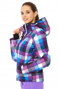 Оптом Куртка горнолыжная женская фиолетового цвета 1807F в Казани, фото 2