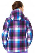 Оптом Куртка горнолыжная женская фиолетового цвета 1807F в  Красноярске, фото 3