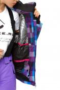 Оптом Куртка горнолыжная женская фиолетового цвета 1807F в  Красноярске, фото 8