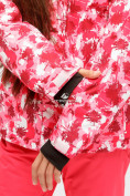 Оптом Куртка горнолыжная подростковая для девочки розового цвета 1773R в Казани, фото 6