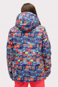 Оптом Куртка горнолыжная подростковая для девочки оранжевого цвета 1773O в Екатеринбурге, фото 2