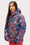 Оптом Куртка горнолыжная подростковая для девочки оранжевого цвета 1773O в Екатеринбурге, фото 5