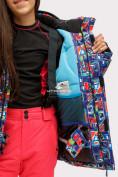 Оптом Костюм горнолыжный для девочки оранжевого цвета 01773O в Нижнем Новгороде, фото 7
