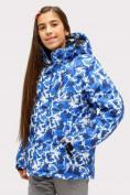 Оптом Костюм горнолыжный для девочки синего цвета 01773S в Нижнем Новгороде, фото 2