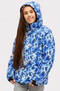Оптом Костюм горнолыжный для девочки синего цвета 01773S в Нижнем Новгороде, фото 5