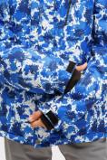 Оптом Костюм горнолыжный для девочки синего цвета 01773S в Нижнем Новгороде, фото 6