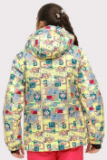 Оптом Куртка горнолыжная подростковая для девочки желтого цвета 1774J в Екатеринбурге, фото 6