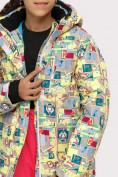 Оптом Куртка горнолыжная подростковая для девочки желтого цвета 1774J в Екатеринбурге, фото 4