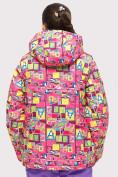 Оптом Куртка горнолыжная подростковая для девочки розового цвета 1774-1R в Екатеринбурге, фото 6